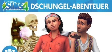 Die Sims 4: Dschungel-Abenteuer Cover