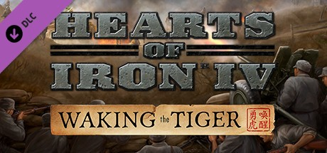Hearts of Iron IV: Waking the Tiger Cover