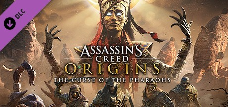 Assassin's Creed Origins - The Curse Of The Pharaohs Cover