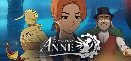 Forgotton Anne Cover