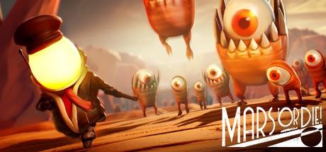 Mars or Die! Cover