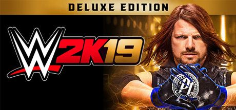 WWE 2K19 - Digital Deluxe Edition Cover