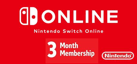 Nintendo Switch Online - 3 Monate Cover