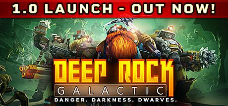 Deep Rock Galactic Cover