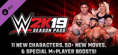 WWE 2K19 - Season Pass Cover