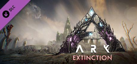 ARK: Survival Evolved - Extinction Cover