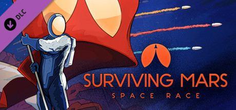 Surviving Mars: Space Race Cover