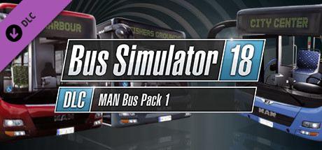 Bus Simulator 18: MAN Bus Pack 1 Cover