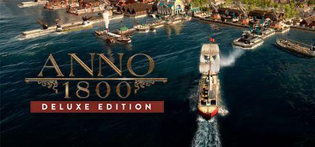 Anno 1800 - Deluxe Edition Cover