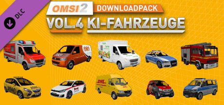 OMSI 2 Downloadpack Vol. 4 - KI-Fahrzeuge Cover
