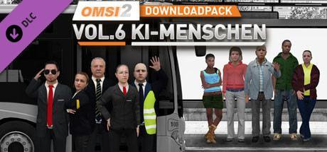 OMSI 2 Add-on Downloadpack Vol.6 - KI-Menschen Cover