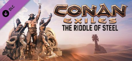 Conan Exiles - The Riddle of Steel Cover