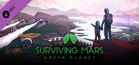 Surviving Mars: Green Planet Cover