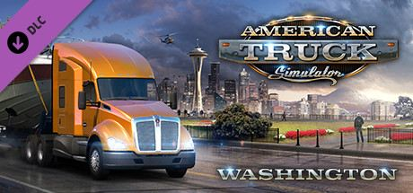 American Truck Simulator - Washington Cover