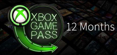 Xbox Game Pass 12 Monate