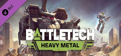 Battletech: Heavy Metal Cover