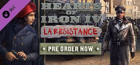 Hearts of Iron IV: La Résistance Cover