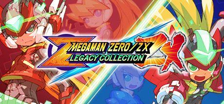 Mega Man Zero/ZX Legacy Collection Cover