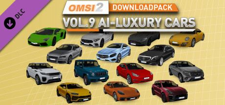 OMSI 2 Downloadpack Vol. 9 - KI-Luxusautos Cover