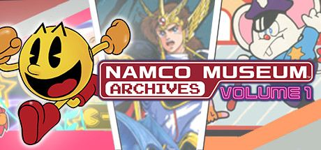 Namco Museum Archives Volume 1 Cover