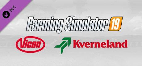 Landwirtschafts-Simulator 19 - Kverneland & Vicon Equipment Pack Cover