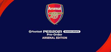 eFootball PES 2021 Season Update - Arsenal Edition Cover