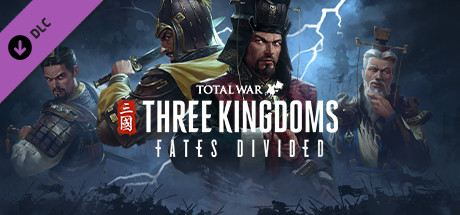Total War: Three Kingdoms - Fates Divided Cover