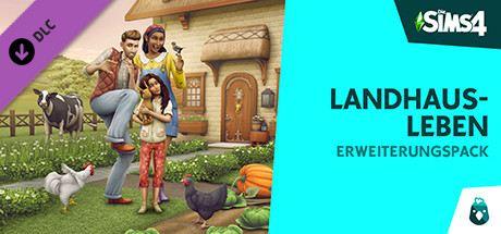 Die Sims 4: Landhaus-Leben Cover