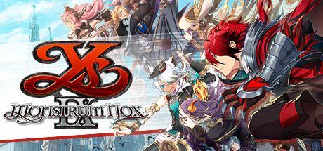 Ys IX: Monstrum Nox Cover