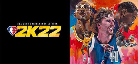 NBA 2K22 - 75th Anniversary Edition Cover