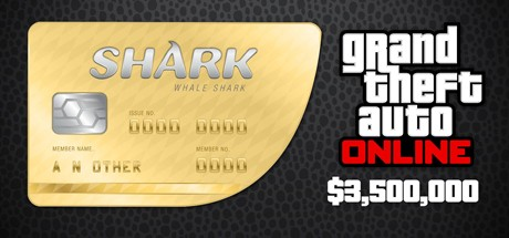 Grand Theft Auto V Online: Whale Shark: GTA$3,500,000 Cover
