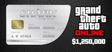 Grand Theft Auto V Online: Great White Shark: GTA$1,250,000 Cover