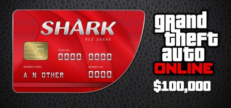 Grand Theft Auto V Online: Red Shark: GTA$100,000 Cover