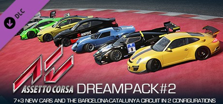 Assetto Corsa - Dream Pack 2 Cover