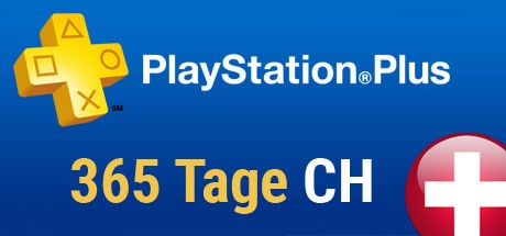 Playstation Plus Card - 365 Tage (Schweiz) Cover