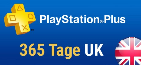 Playstation Plus Card - 365 Tage (Großbritannien) Cover