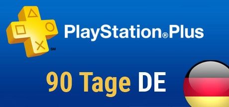 Playstation Plus Card - 90 Tage (Deutschland) Cover