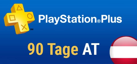 Playstation Plus Card - 90 Tage (Österreich) Cover