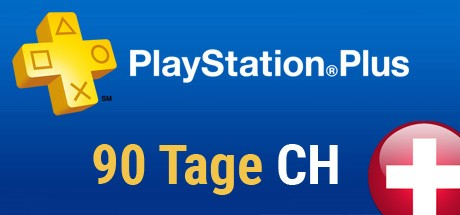 Playstation Plus Card - 90 Tage (Schweiz) Cover
