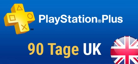 Playstation Plus Card - 90 Tage (Großbritannien) Cover