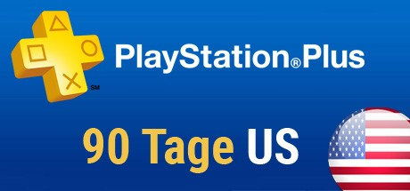 Playstation Plus Card - 90 Tage - US Cover
