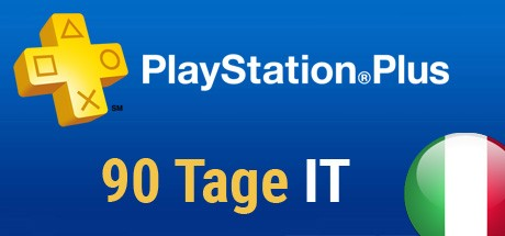 Playstation Plus Card - 90 Tage (Italien) Cover