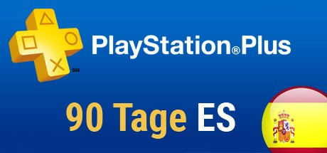 Playstation Plus Card - 90 Tage (Spanien) Cover