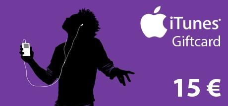 iTunes Code 15 €