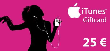 iTunes Code 25 €