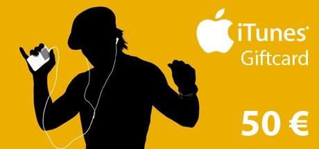 iTunes Code 50 €