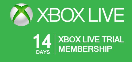 Xbox Live GOLD 14 days TRIAL Subscription Card GLOBAL
