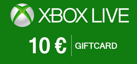 Xbox Live 10 Euro Gift Card - Xbox Live Download Code