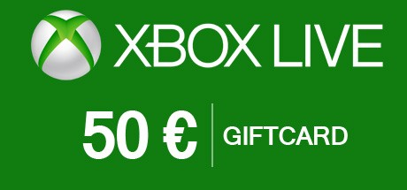 Xbox Gift Card 50 Euro - Xbox Live Download Code