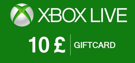 Xbox Live Guthabenkarte - 10 GBP